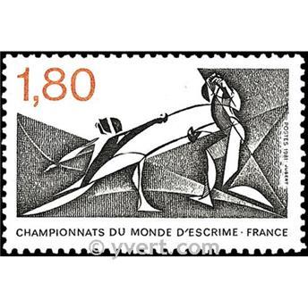 n° 2147 -  Selo França Correios