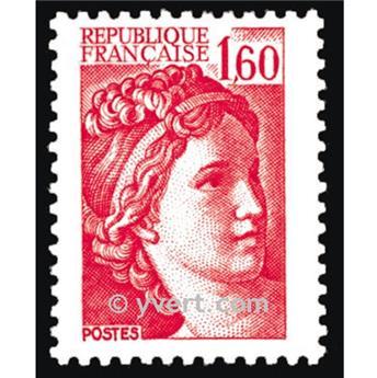 n° 2155 -  Selo França Correios