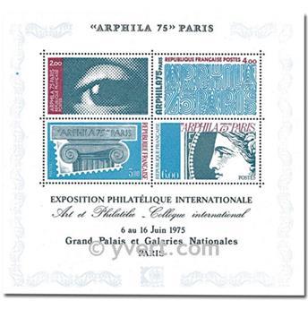 n° 7 -  Selo França Blocos e folhinhas