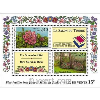 n° 15 -  Selo França Blocos e folhinhas