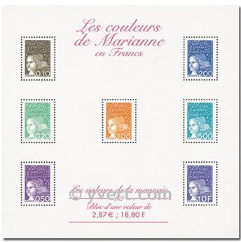 n° 41 -  Timbre France Bloc et feuillets