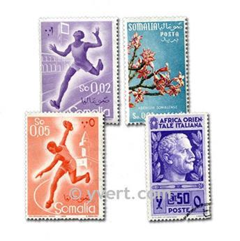 POSS ITALIENNES : pochette de 50 timbres