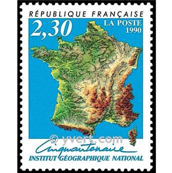 n° 2662 -  Selo França Correios