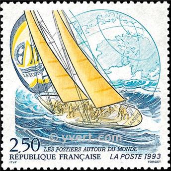 n.o 2789 -  Sello Francia Correos