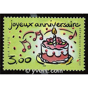 n° 3242 -  Selo França Correios