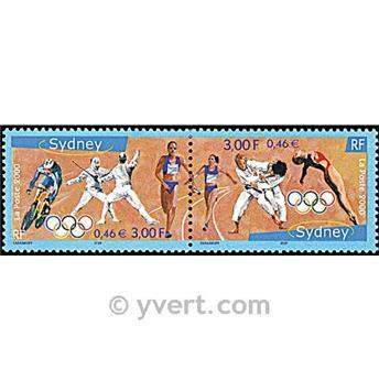 n° 3340A -  Selo França Correios