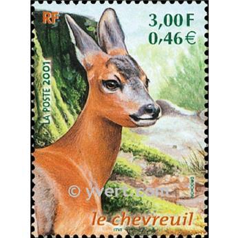 n° 3382 -  Selo França Correios