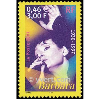 n.o 3396 -  Sello Francia Correos
