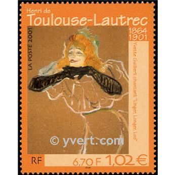 n.o 3421 -  Sello Francia Correos