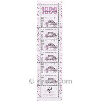 n° BC2578A -  Timbre France Carnets Journée du Timbre