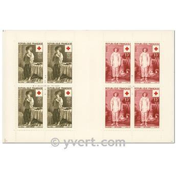 n° 2005 -  Selo França Carnets Cruz Vermelha