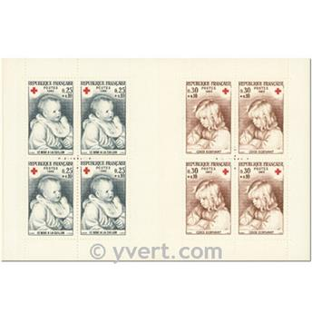 n° 2014 -  Timbre France Carnets Croix Rouge (1965)