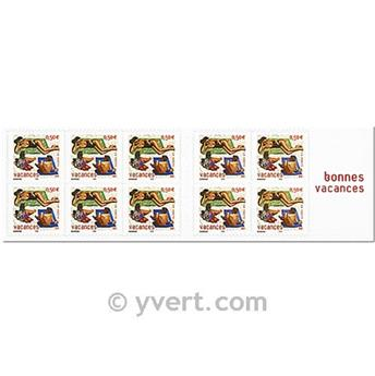 n° BC3578A -  Timbre France Carnets Divers
