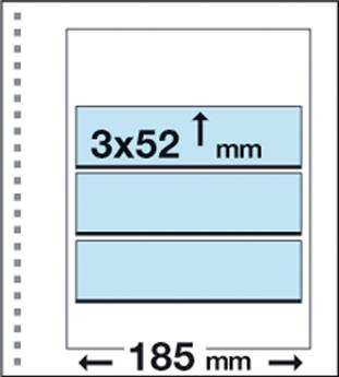 Recharges CK13 : 3 bandes (52x185mm)