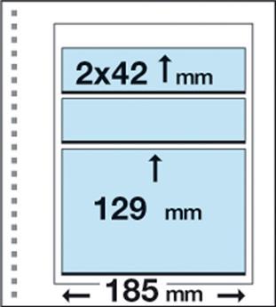 Recharges CK17 : 1 poche (129x185mm) et 2 bandes (42x185mm)