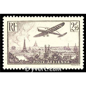 n.o 10 -  Sello Francia Correo aéreo