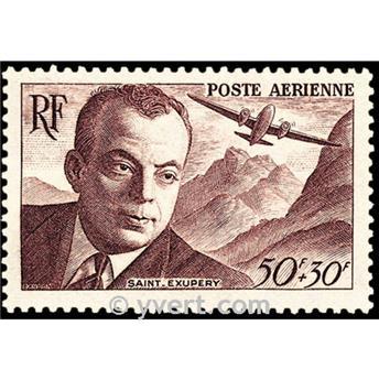 n° 21 -  Timbre France Poste aérienne