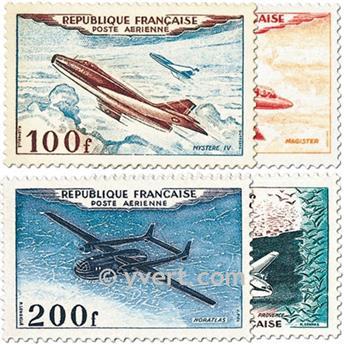 n° 30/33 -  Selo França Correio aéreo