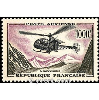 n° 37 -  Timbre France Poste aérienne