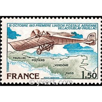 n° 51 -  Selo França Correio aéreo