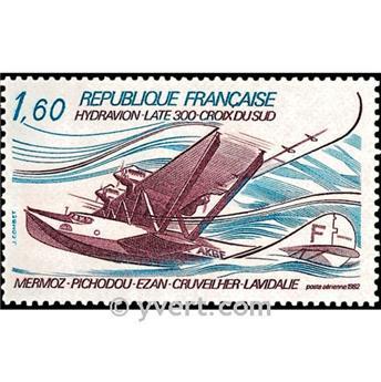 n° 56 -  Timbre France Poste aérienne