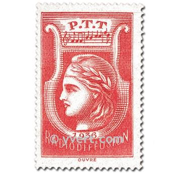 nr. 2 -  Stamp France Radio Revenue stamp
