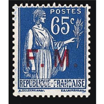 n° 8 -  Selo França Franquia postal