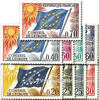 nr. 27/35 -  Stamp France Official Mail