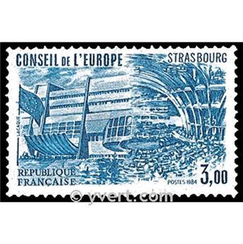 n° 84 -  Timbre France De service