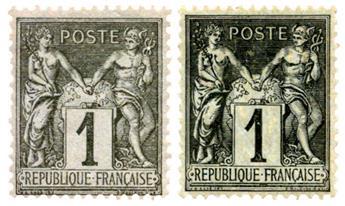 n° 52 -  Selo França Pré-obliterados