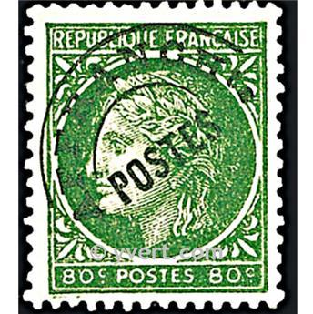 n° 88 -  Selo França Pré-obliterados