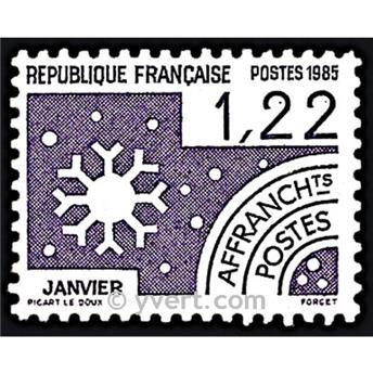 n° 186 -  Selo França Pré-obliterados