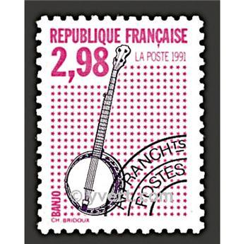 n° 217 -  Selo França Pré-obliterados