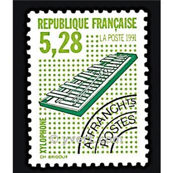 n° 221 -  Selo França Pré-obliterados