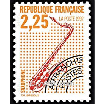 n° 225 -  Selo França Pré-obliterados