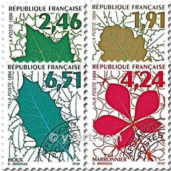 n° 232/235 -  Selo França Pré-obliterados