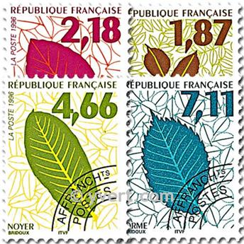n° 236/239 -  Selo França Pré-obliterados