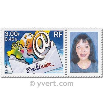 nr. 3365A -  Stamp France Personalized Stamp
