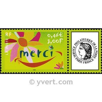 n° 3433 -  Selo França Personalizados