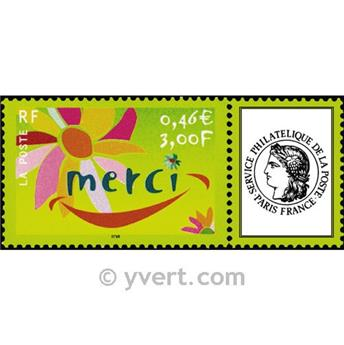 nr. 3433 -  Stamp France Personalized Stamp