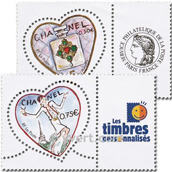 n° 3632A/3633A -  Timbre France Personnalisés