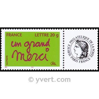 n.o 3761A -  Sello Francia Personalizados