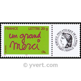 nr. 3761A -  Stamp France Personalized Stamp