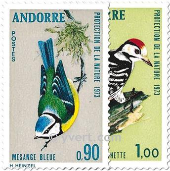 nr. 232/233 -  Stamp Andorra Mail