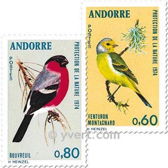 n° 240/241 -  Selo Andorra Correios