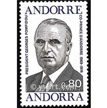 n° 249 -  Selo Andorra Correios