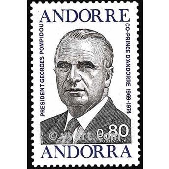 nr. 249 -  Stamp Andorra Mail