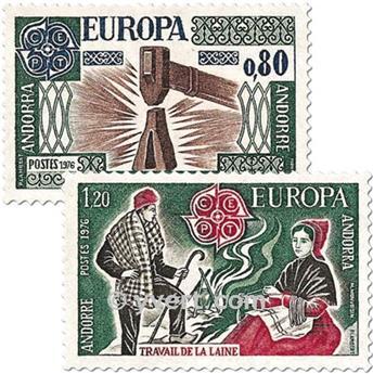 nr. 253/254 -  Stamp Andorra Mail