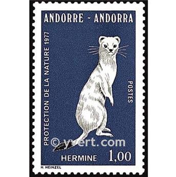 n° 260 -  Selo Andorra Correios