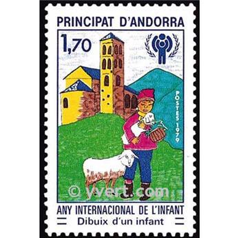 n° 279 -  Selo Andorra Correios